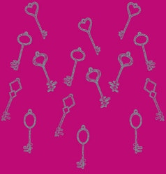Pattern keys vector