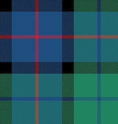 Flower of scotland tartan seamless pattern fabric vector
