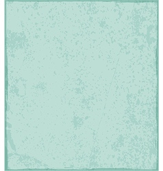 Vintage blots stained green paper texture vector