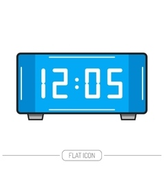 Electronic watch Flat color icon isolated vector image