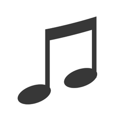Music and melody note icon vector