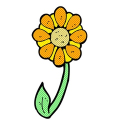 caroton flower vector image