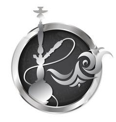 hookah symbol vector image vector image