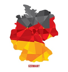 Map of germany vector