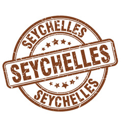 Seychelles stamp vector