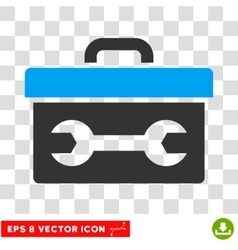 Toolbox eps icon vector