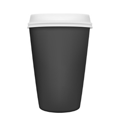 Coffee cup isolated vector