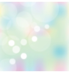 Abstract colorful blurred background vector image