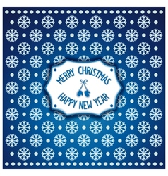 Christmas and new year badge vector