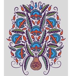 Folk pattern vector image vector image