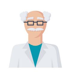 Scientist icon vector