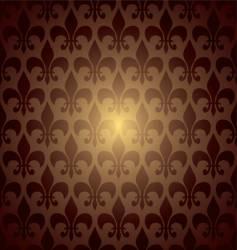 symbol repeat brown vector image