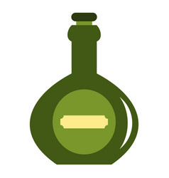 Bellied bottle icon isolated vector