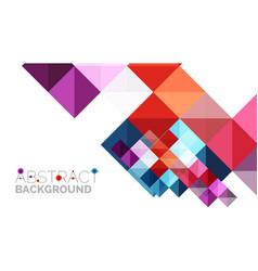 Modern geometric presentation background vector