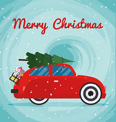 Christmas Tree Car Vector Images Over 340  - Christmas Tree On Car