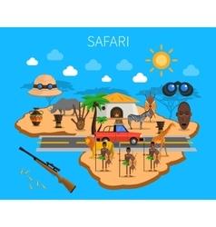 Safari concept vector
