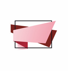 the template for the banner vector image