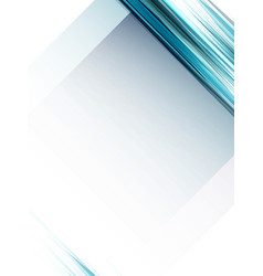 abstract geometric blue lines background vector image vector image