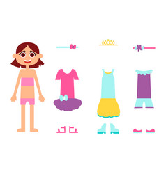 clothes for birthday vector image vector image