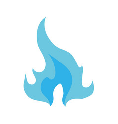 Fire burn flamme vector