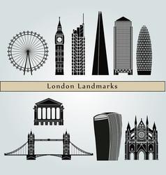 London v2 landmarks vector