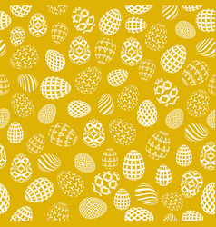 Seamless background to easter with eggs 2 vector