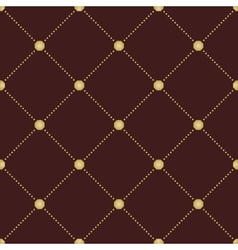 Geometric modern seamless dotted pattern vector