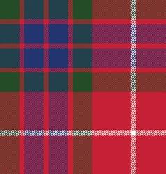 Fraser tartan seamless pattern fabric texture vector
