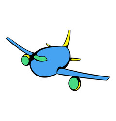 Aircraft icon icon cartoon vector