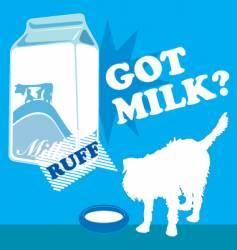 got milk vector image vector image