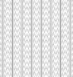 Slim gray striped continues waves vector
