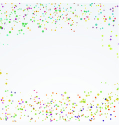 abstract festive dotted paint splatter layout vector image vector image