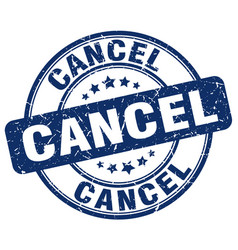 Cancel stamp vector