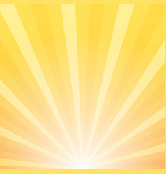 Sunray background sunrise and sunset vector