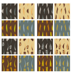 tribal background ethnic pattern set boho texture vector image vector image