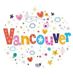Vancouver vector