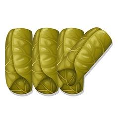 Vegetable wrap vector image