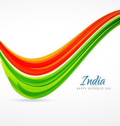 Indian tricolor wave vector