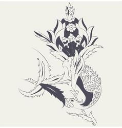 Phoenix Tile vector image
