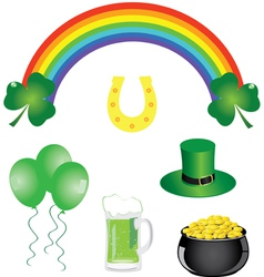 Shamrock day vector