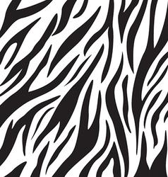 Zebra Print Pattern vector image