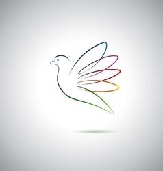 Dove logo vector