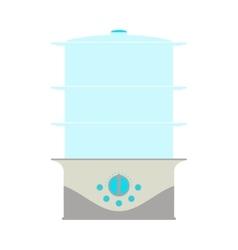 Steamer icon card vector