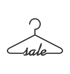 Sale label hook offer banner icon graphic vector