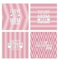 Mother day background vector