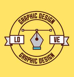 logo graphic design vector image