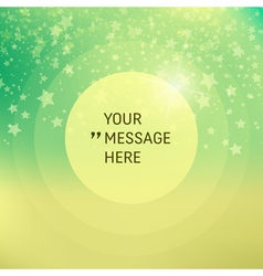 Frame with Place for Text Falling Snow Background vector image