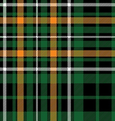 Green tartan celtic fc seamless pattern fabric vector