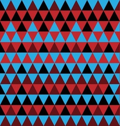 simple triangle pattern vector image vector image