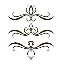 Tattoo set vector
